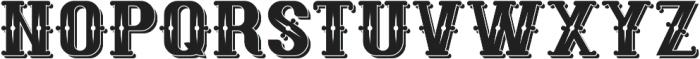 RetroLabel ShadowAndTexture otf (400) Font UPPERCASE