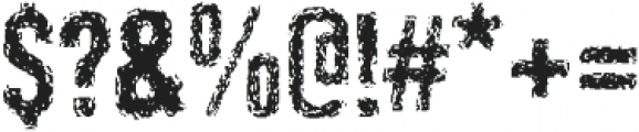 Retroactice Pro ttf (400) Font OTHER CHARS
