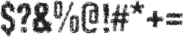 Retroactive Pro Regular otf (400) Font OTHER CHARS