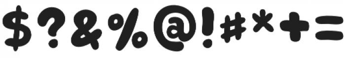 Retrofield 3D otf (400) Font OTHER CHARS
