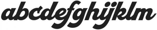 Retrofunk Script Pro Regular otf (400) Font LOWERCASE