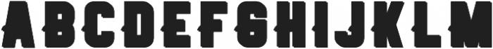 Retrowave Space Regular otf (400) Font UPPERCASE