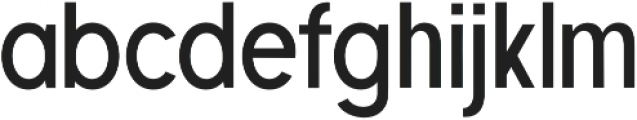 Retroyal SemiBold otf (600) Font LOWERCASE