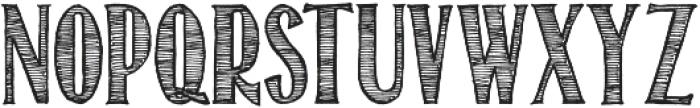 Return To Sender ttf (400) Font UPPERCASE