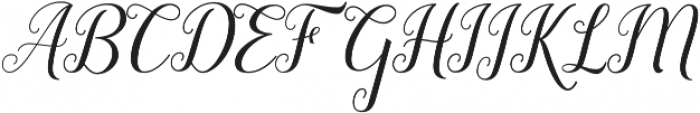 Revallyna otf (400) Font UPPERCASE