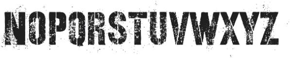 Revanche Two Regular otf (400) Font LOWERCASE