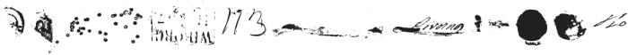 Revanche X Regular otf (400) Font UPPERCASE