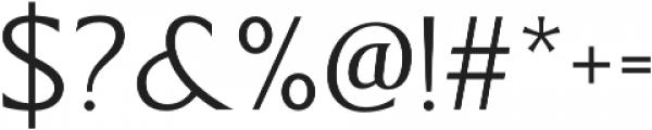 Revans Light otf (300) Font OTHER CHARS