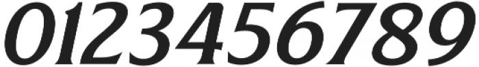 Revans Medium Italic otf (500) Font OTHER CHARS