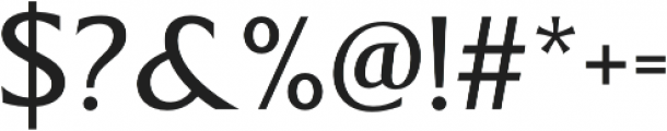 Revans Normal otf (400) Font OTHER CHARS
