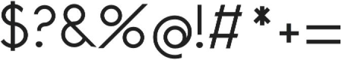 Revelane Regular otf (400) Font OTHER CHARS