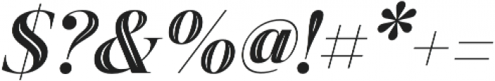 Revista Script Black otf (900) Font OTHER CHARS