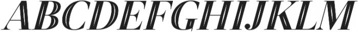 Revista Script Black otf (900) Font UPPERCASE