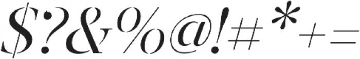 Revista Stencil Thin otf (100) Font OTHER CHARS