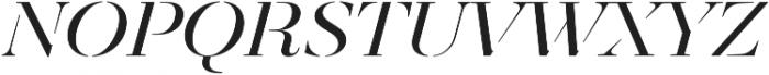 Revista Stencil Thin otf (100) Font LOWERCASE