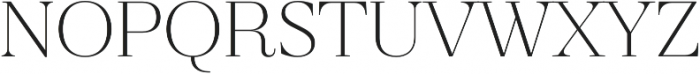 Revista Thin otf (100) Font UPPERCASE