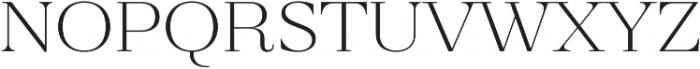 Revista Thin otf (100) Font LOWERCASE