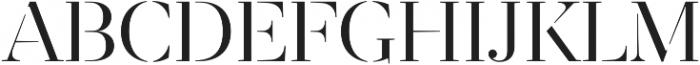 Revista otf (400) Font UPPERCASE