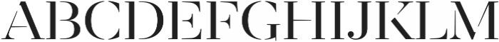 Revista otf (400) Font LOWERCASE