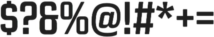 Revolution Gothic Bold otf (700) Font OTHER CHARS