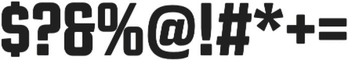Revolution Gothic ExtraBold otf (700) Font OTHER CHARS