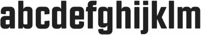 Revolution Gothic ExtraBold otf (700) Font LOWERCASE