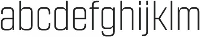 Revolution Gothic ExtraLight otf (200) Font LOWERCASE