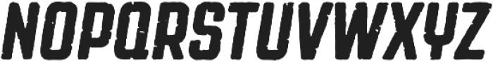 Revolution Gothic P Regular Italic otf (400) Font UPPERCASE