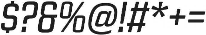 Revolution Gothic Regular It otf (400) Font OTHER CHARS