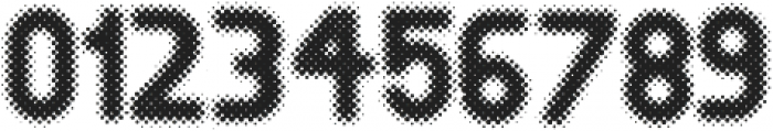 Revolution Halftone otf (400) Font OTHER CHARS