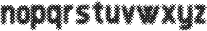 Revolution Halftone otf (700) Font LOWERCASE