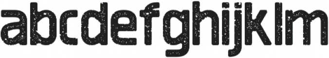 Revolution Printed otf (400) Font LOWERCASE