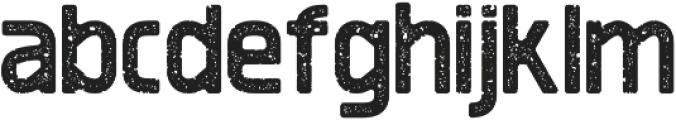 Revolution Printed otf (700) Font LOWERCASE