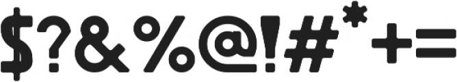 Revolution otf (400) Font OTHER CHARS