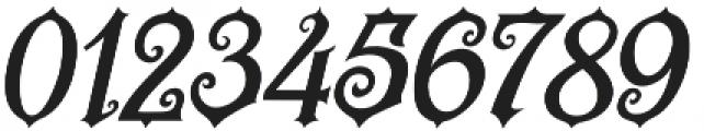 Revorioum Regular otf (400) Font OTHER CHARS