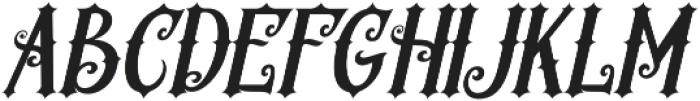 Revorioum Regular otf (400) Font UPPERCASE