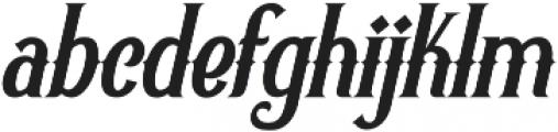 Revorioum Regular otf (400) Font LOWERCASE