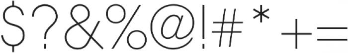 Rewind Bold otf (700) Font OTHER CHARS