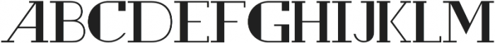 Rewind Bold otf (700) Font LOWERCASE