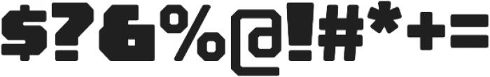 Rexlia Black otf (900) Font OTHER CHARS