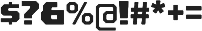 Rexlia Heavy otf (800) Font OTHER CHARS