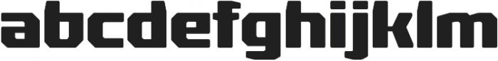 Rexlia Heavy otf (800) Font LOWERCASE