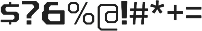 Rexlia Regular otf (400) Font OTHER CHARS