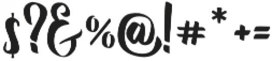 Reybro otf (400) Font OTHER CHARS