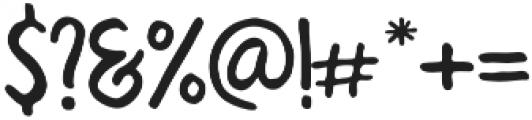 reaction regular otf (400) Font OTHER CHARS