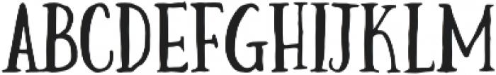 reaction regular otf (400) Font LOWERCASE