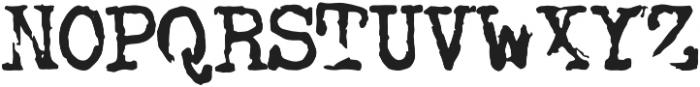retro typewriter otf (400) Font UPPERCASE