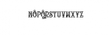 RELICISLANDFRAME.TTF Font UPPERCASE