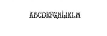 RELICISLANDFRAME.TTF Font LOWERCASE