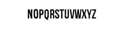 Redgar Typeface Font UPPERCASE
